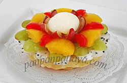 Italian fruit tart